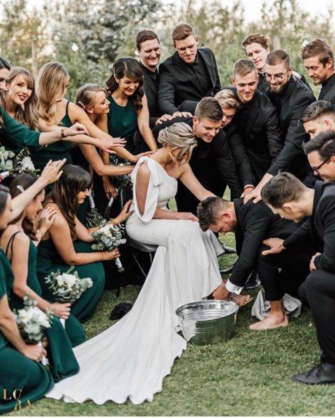 Index - Kultúr - Az esküvő lényege a habos-gyönyörű nő
